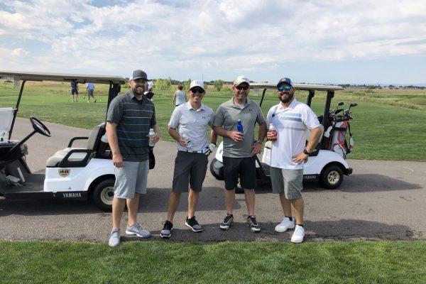 2020 Golf Tournament winners - each player won a $100 gift card.